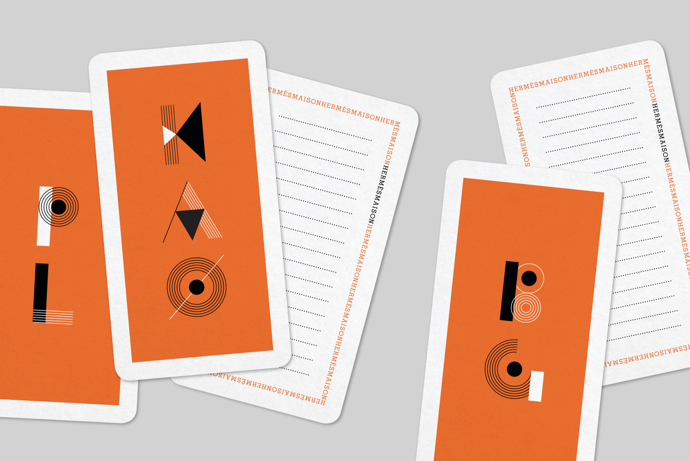 Maison hermes paris buy online the product voyage en for Paris orange card
